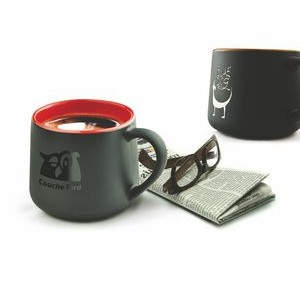 12 Oz. The Black Onyx Mug (Screen Print)