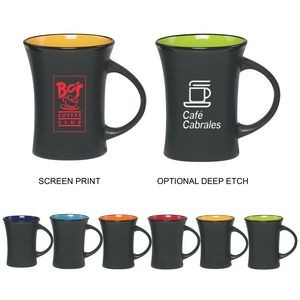 11 Oz. Screen Printed Hourglass Mug