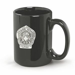 "14 Oz. Jumbo ""C"" Handle Mug (Deep Etch)"