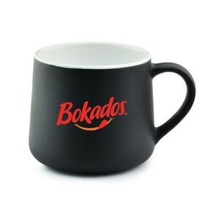 12 Oz. The Black Onyx Mug (Deep Etch)